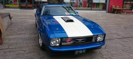 Vrijdag 15 juni: Rij mee in deze bijzondere Mustang uit 1973!