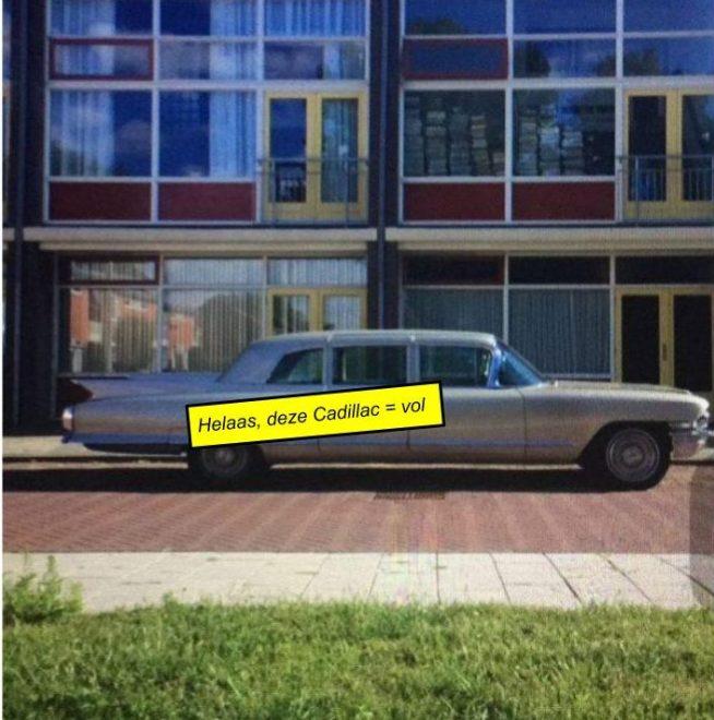 Deze Cadillac rijdt zondag mee, en is al volgeboekt!