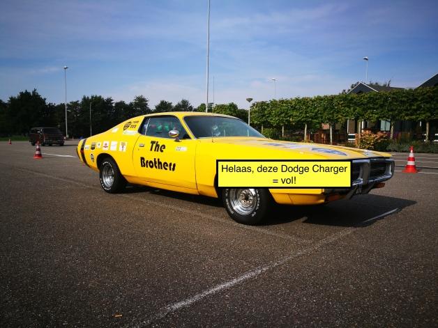 Vrijdag 15 juni: Deze Dodge Charger komt uit 72 en is daarmee familie van de befaamde Dukes of Hazzard wagen. Hij is al volgeboekt!
